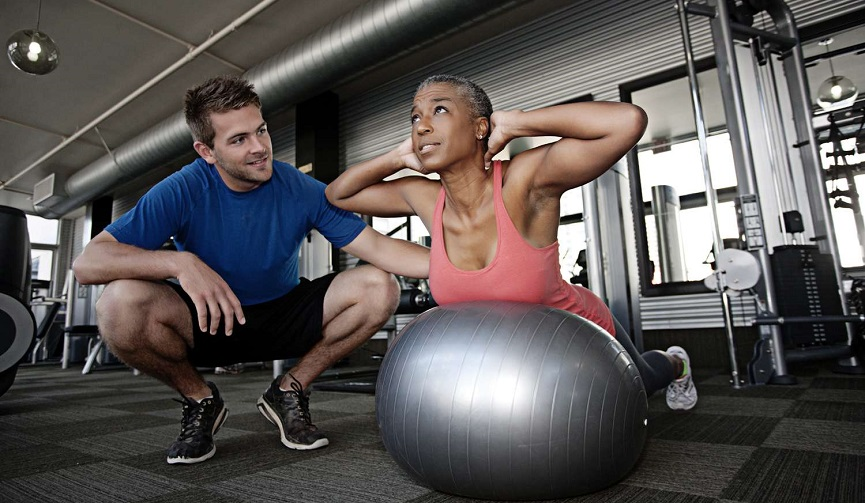 hiring personal trainer